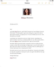 Brev från fröken Hülya